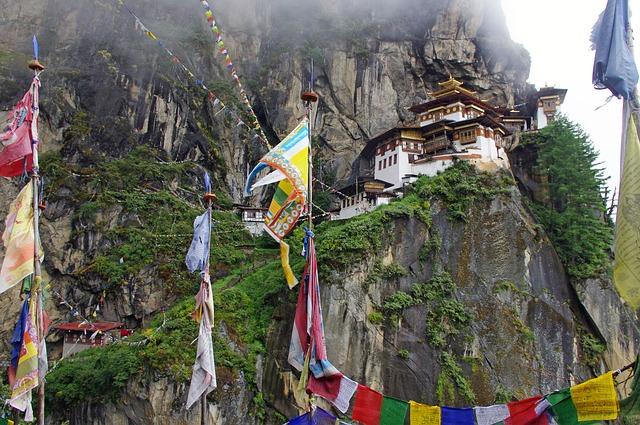 Trekking on Takshang Temple, Bhutan