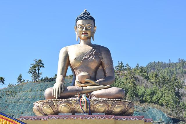 buddha-statue-bhutan-country