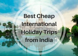 Cheap International Destinations From India