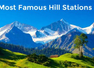 Top 10 Famous Hill Stations In India