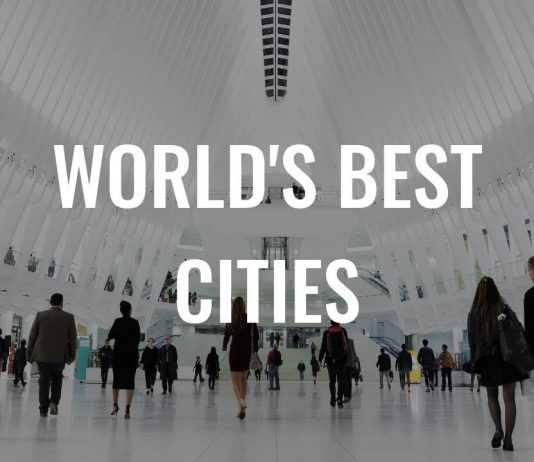 Best cities in world