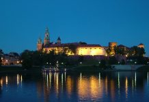 The most interesting attractions of Krakow - sightseeing at night